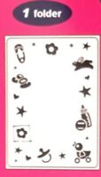 Crafts-Too/CTFD3041/C6/Embossing /Folder/Baby Frame