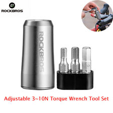 ROCKBROS Bicycle Adjustable Torque Control Square Drive 3~10N Torque Wrench Tool
