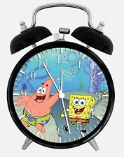 """SpongeBob SquarePants Alarm Desk Clock 3.75"""" Home or Office Decor Z65"""