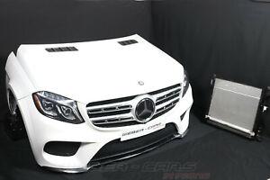 Mercedes X166 GLS 350D AMG Bumper Cooling Fan Front Package Hat LED Headlights