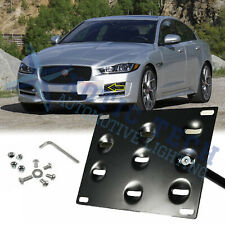 Front Bumper Tow Hook License Plate Mounting Bracket For Jaguar XF 09-up XE 17+