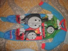 THOMAS TANK ENGINE & FRIENDS TRAIN Footed Pajamas Blanket Sleeper size 4T (B56)