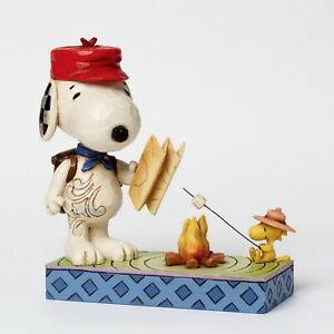 Enesco Jim Shore Figur 4049414 - Campfire Friends - The Peanuts Skulptur