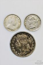 1887 1900H 1903 Hong Kong 20c 5c 5c 3 Foreign Coins 20176