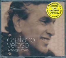 Caetano Veloso. Antologia 67/03 (2003) 2 CD NUOVO Samba Haiti Cucurrucucù Paloma