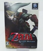 Nintendo GameCube The Legend of Zelda Twilight Princess Soft Japan F/S