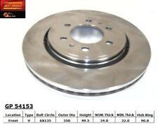 Disc Brake Rotor fits 2007-2008 Lincoln Navigator  BEST BRAKES USA