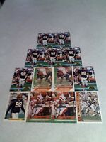 *****David Grant*****  Lot of 33 cards.....8 DIFFERENT / Football