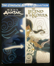 AVATAR THE LAST AIRBENDER+THE LEGEND OF KORRA COMPLETE BLU-RAY COLLECTION Open B
