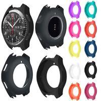 Luxus-Silikon-Bügel-Uhrenarmband-Kasten-Abdeckung für Samsung Gear S3 Frontier.