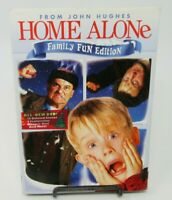 HOME ALONE - FAMILY FUN EDITION DVD MOVIE, MACAULAY CULKIN, JOE PESCI, JOHN C.