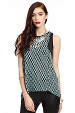 Unbranded Scoop Neck Geometric Tops & Shirts for Women
