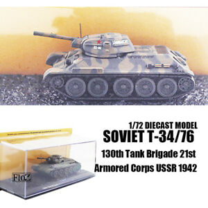 1/72 SOVIET T-34/76 130th Tank Brigade 21st Armored Corps USSR 1942  TANK IXO