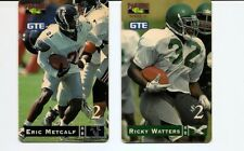 USA PHONECARDS - GTE Football Watters + Metcalf - USED / NO AIRTIME