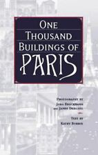 One Thousand Buildings of Paris, Borrus, Kathy, Good Book