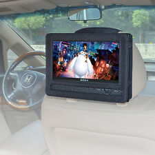 "universal Car headrest mount for 9""normal portable DVD player Strap Case"