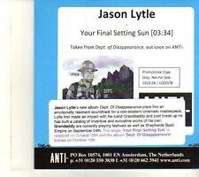 (DR743) Jason Lytle, Your Final Setting Sun - 2012 DJ CD