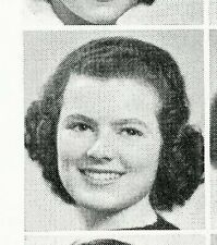 BARBARA HALE and JOHN ANDERSON   1939 Rockford High School Yearbook IL