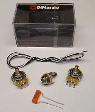 DiMarzio DP122 Bass Guitar Pickup COMPLETE KIT WITH POTS for Precision P Bass