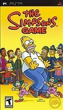 BRAND NEW SEALED PSP -- Simpsons Game (Sony PSP, 2007)