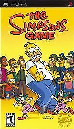 Simpsons Game (Sony PSP, 2007) ☆ Complete ☆