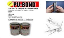 Adesivo bicomponente espandente colla PU-Bond x metalli vetro ceramica PVC 500gr