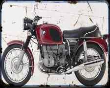 Bmw R 60 5 2 A4 Metal Sign Motorbike Vintage Aged