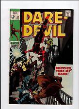 Marvel DAREDEVIL #47 1968 VG+ Vintage Comic