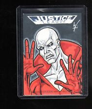 2016 Cryptozoic DC Justice league Jason Worthington  sketch card