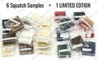 DR SQUATCH 7 Soap Samples - 1 FREE LIMITED EDITION FREE SAME DAY SHIP 12PM - USA