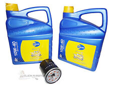 TOYOTA HIACE 2.5 D4D 2002-2010 OIL FILTER & 10L 10W40 SEMI SYNTHETIC ENGINE OIL