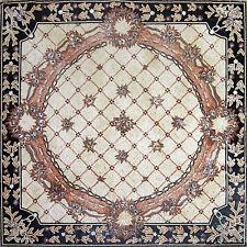 """80"""" Floral Carpet/Rug Floor Elegance Wall Design Home Marble Mosaic Art Tile"""