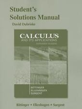 Limited edition math textbooks educational books ebay calculus and its application fandeluxe Image collections