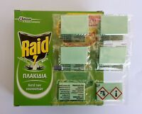 Repellent For Insect Mosquito (Tiger) & Flies - RAID Green - Mat Tablets Refill