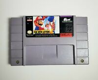 Mario's Early Years: Fun With Letters (Super Nintendo Entertainment System)