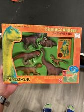Mattel Walt Disney's Dinosaur Movie Skelechangers Collectible Pack 6 Dinos 2000