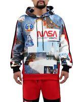 Hudson Men's NASA Launch Pullover Hoodie size XL