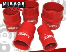"JDM SPORT 2.25"" REINFORCED SILICONE TURBO INTAKE INTERCOOLER PIPING PIPE COUPLER"