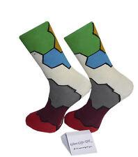 High Quality Multi Colour Molecule Socks
