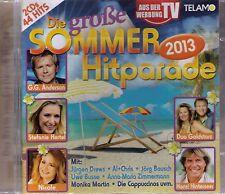 Die große SOMMER-Hitparade 2013, 2-CD-Album , 44 Titel