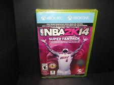 NBA 2K14 - Super Fan Pack (Microsoft Xbox 360, 2013) Brand New B250
