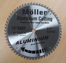 "10"" x 60T Aluminum Cutting TCT Saw Blade"
