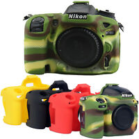 Silicone Camera Body Cover Case Skin For Nikon D5500 D5600 D7500 D7200 D810 D850