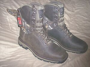 Ariat Boots Mens 9 Hunting Boots Waterproof Boots Realtree Camo Boots Scent Mask
