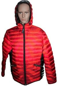 Bogner Men's down Jacket Lennox D Red Orange Size XXL New with Tag