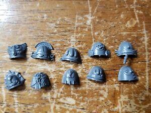 Warhammer Space Marines Blood Angels Sanguinary Guard Bare Heads Bits BIN58