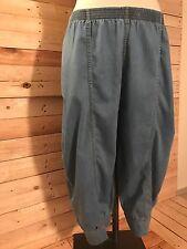 La Bass Lightweight Balloon Jeans,Blue,Size 42-46 (2), Elastic Waistband,