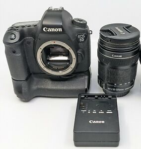 Canon EOS 6D 20.2MP Digital SLR Camera with Canon EFS 18-135mm Lens