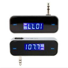 LCD FM Transmitter KFZ PKW LKW Auto Radio für MP3 Player iPhone 3,5mm E7W4 I6D5