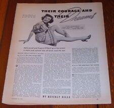 1940 MOVIE ARTICLE~CARMEN MORALES in THE LONG VOYAGE HOME~JOHN WAYNE~JOHN FORD